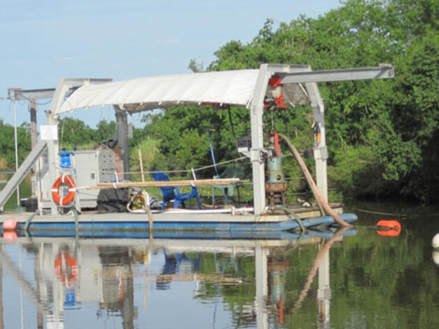 Audubon Louisiana's Small Dredge